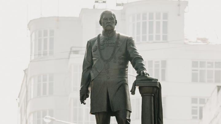 В Самаре установили памятник Петру Алабину