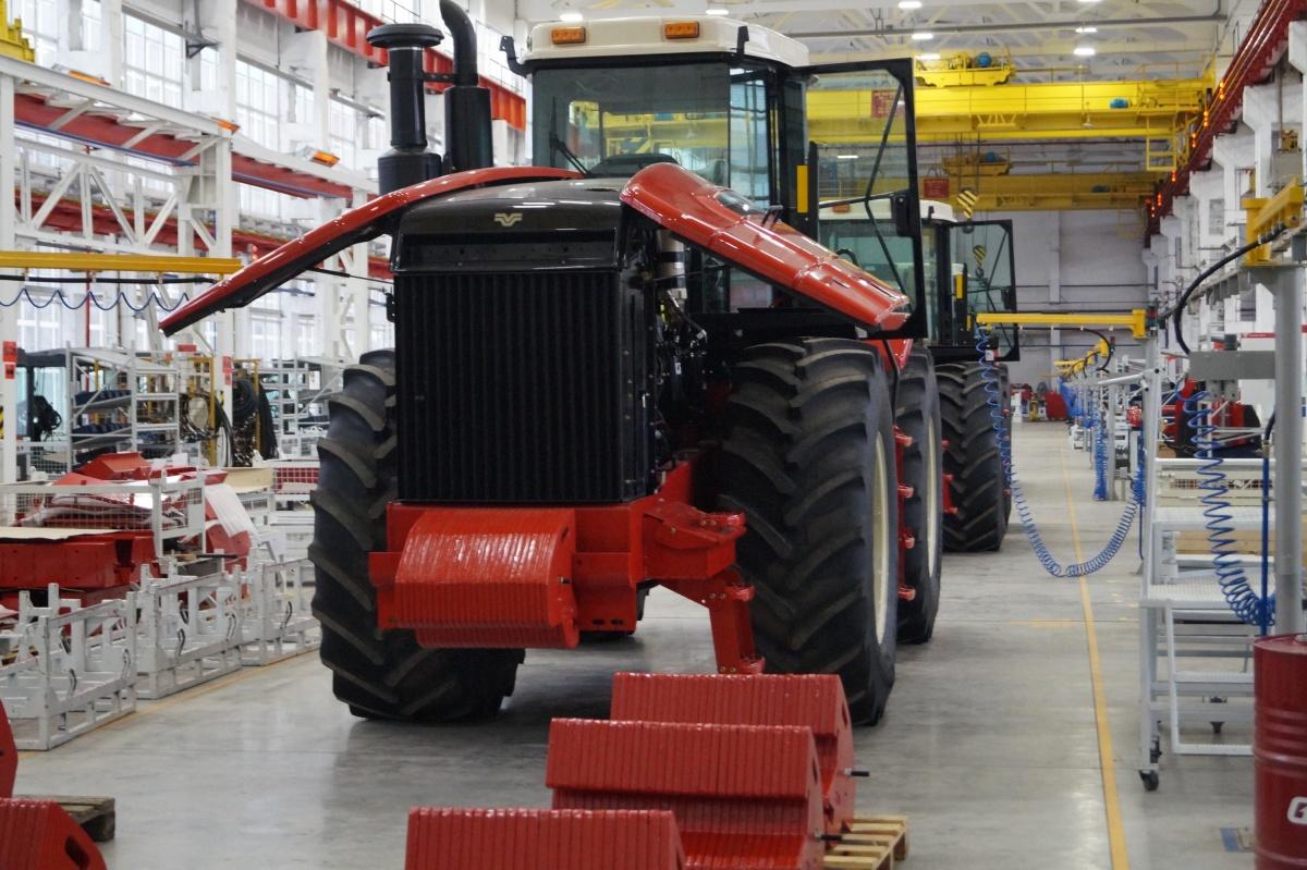 Ростсельмаш подвёл первые итоги локализации тракторов