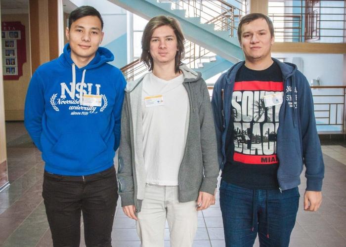 Роман Вишневский, Павел Смирнов и Николай Викторов