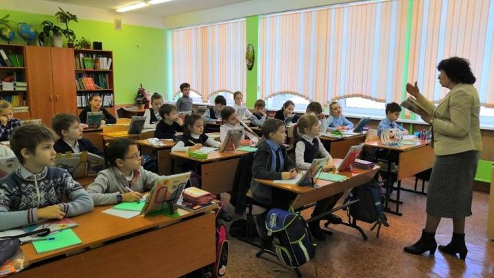 Красноярские школьники устали отдыхать и начали приходить на уроки в морозы