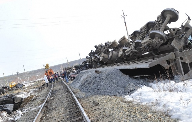На месте железнодорожной катастрофы в Башкирии восстановлено движение поездов
