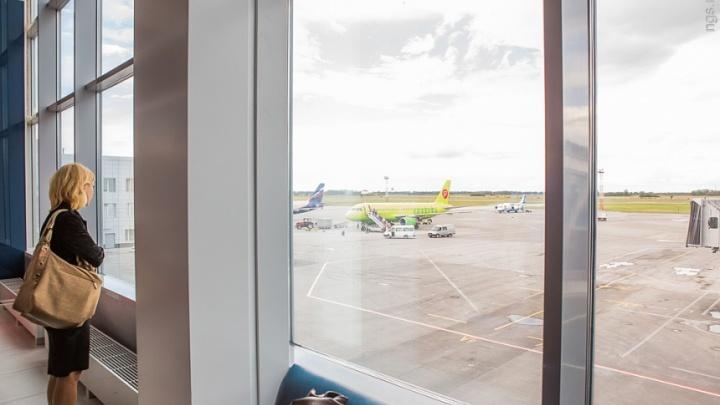 Самолеты в Новосибирск задержались из-за мощного грозового фронта в Москве