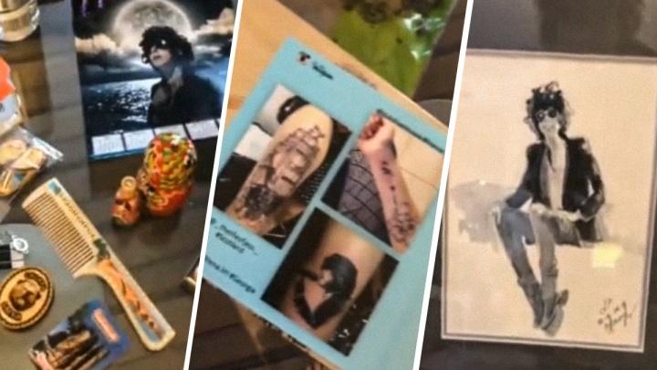 Бутылка водки, игрушки, книга: американская певица LP показала подарки от поклонников в Красноярске