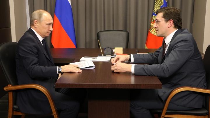 Визит Владимира Путина в Нижний Новгород ожидают в октябре
