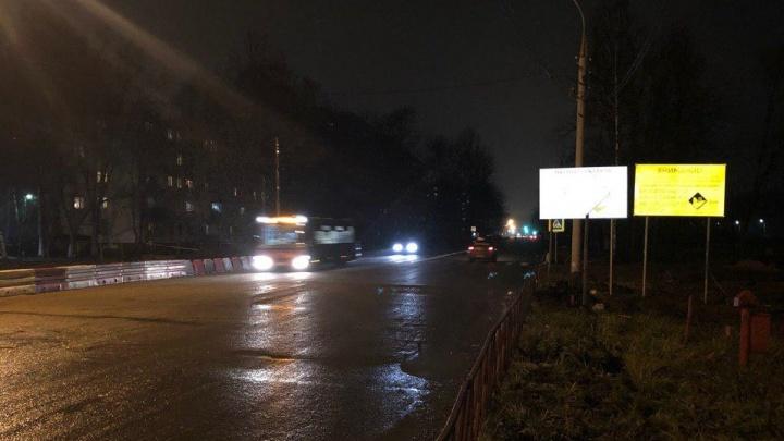 В Ярославле пустили движение по Тутаевскому шоссе: как поехал общественный транспорт