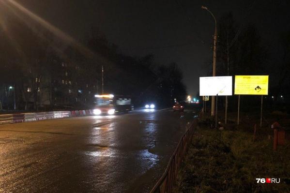 Автобусы и маршрутки поехали по Тутаевскому шоссе напрямую сразу, как открыли проезд