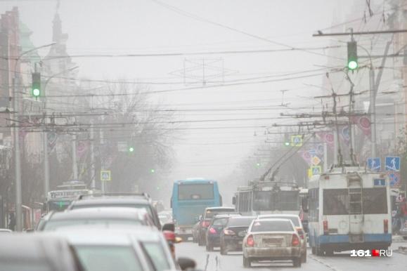 Туман в последнее время — частый гость в нашем городе