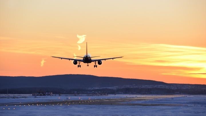 В Кольцово аварийно сел самолёт авиакомпании «Ямал»