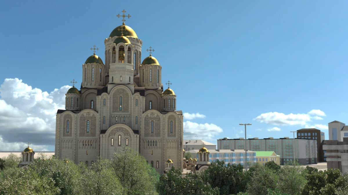Владимир Руднев уверен, что храм отлично вписывается в существующую застройку