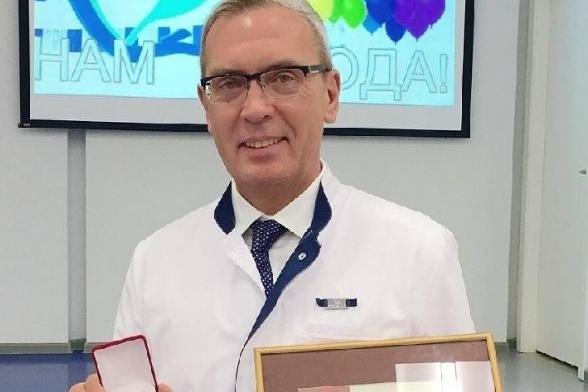 Главный врач перинатального центра Андрей Павлов
