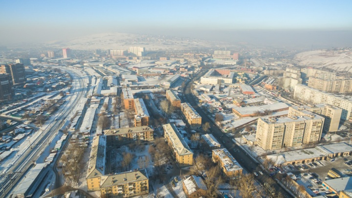 «Вторые в мире по загрязнению»: вчерашний смог вывел Красноярск в топ грязных городов