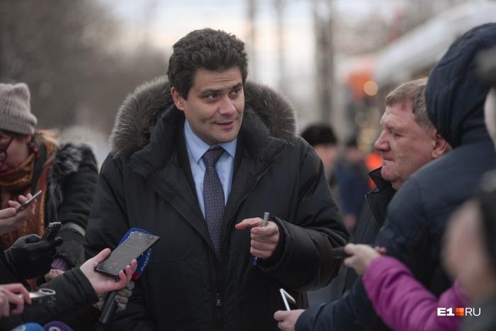 Александр Высокинский стал мэром в сентябре