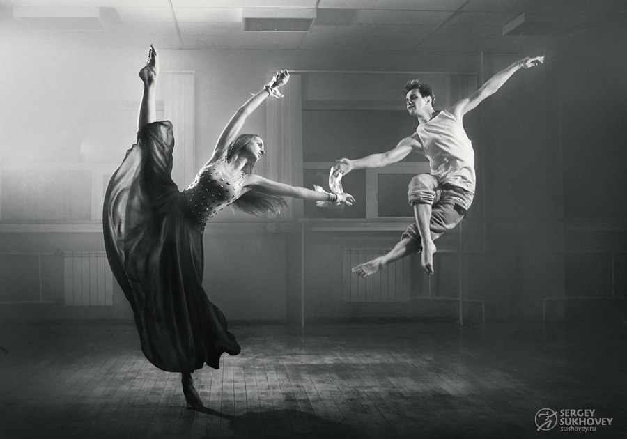 На фото — танцоры из новосибирского коллектива ACTIONМихаил Глущенко и Ирина Бубина