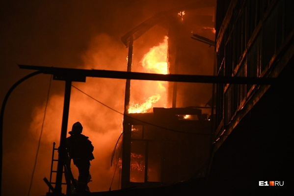 Пожар обошелся без жертв