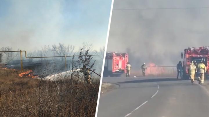 Из-за пожара в Азовском районе эвакуировали детский сад
