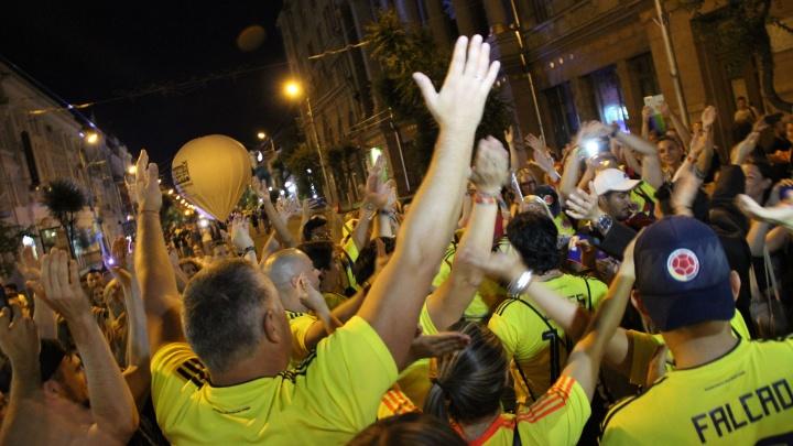 «Бей в барабаны!»: колумбийцы громко отпраздновали победу своих футболистов в Самаре