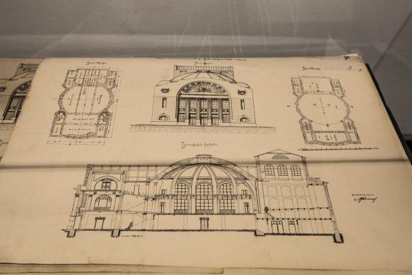 Показать все разделы проекта на выставке оказалось невозможно — он состоит из более чем 60 листов формата примерно А3
