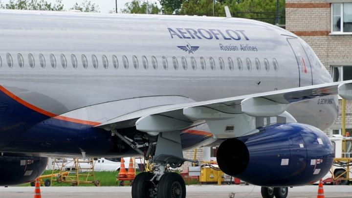 Еще одна отмена: «Аэрофлот» вновь убрал рейс на Superjet из Перми в Москву