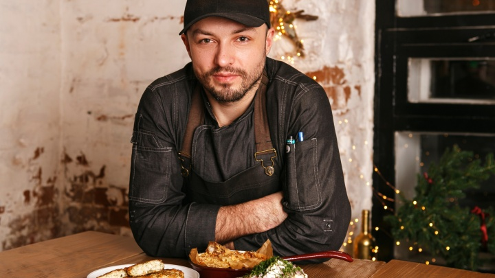 Из доступных продуктов: шеф модного ресторана приготовил блюда к Новому году