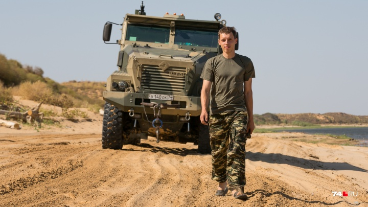 «В гору проще, чем с горы»: южноуральский тест-пилот рассказал, где и как испытывают военные машины