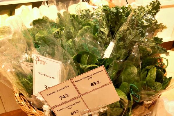 Первым магазином, где зелень iFarm может купить обычный покупатель, стал супермаркет «Добрянка» в 10 минутах ходьбы от теплицы