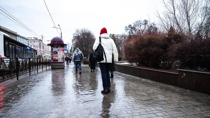 По северу Ростовской области объявлено штормовое предупреждение