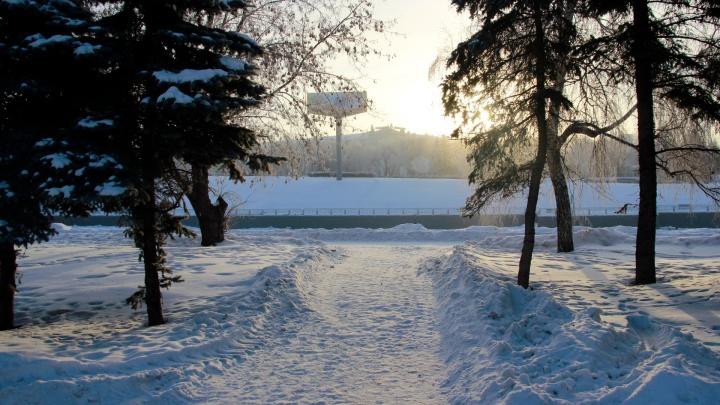 Перед Крещением в Омске потеплеет