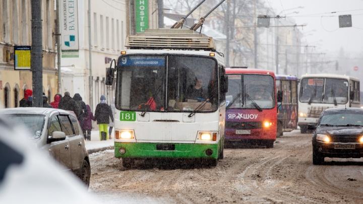 В Ярославле транспортники накануне митинга рассказали, что на самом деле будет с троллейбусами