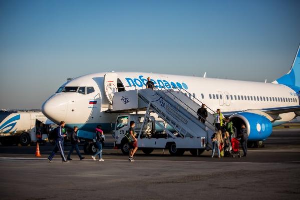 Раньше в Санкт-Петербург из Новосибирска авиакомпания «Победа» никогда не летала