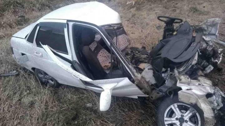 Водитель, лишенный прав, насмерть разбился в ДТП на южноуральской трассе