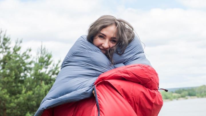 Заснуть как дома: где в Новосибирске купить теплые спальные мешки