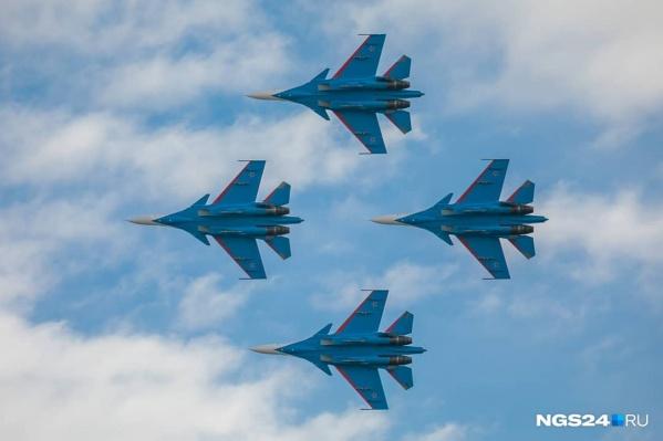Красноярцы могут увидеть истребители в традиционном авиашоу