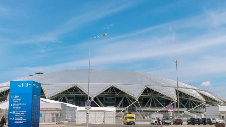 Областной Минстрой уточнил расположение туалетов у стадиона «Самара Арена»