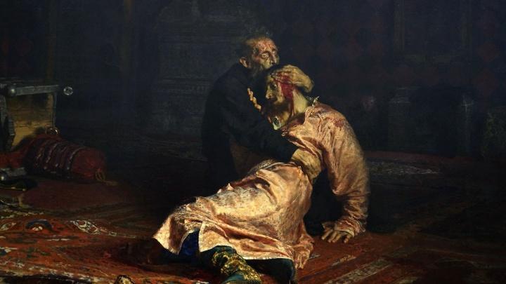 В Третьяковской галерее вандал порвал знаменитое полотно «Иван Грозный убивает своего сына»