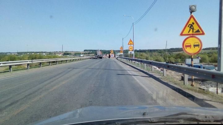 На трассах Зауралья начались ремонтные работы. ГИБДД выступила с обращением к водителям