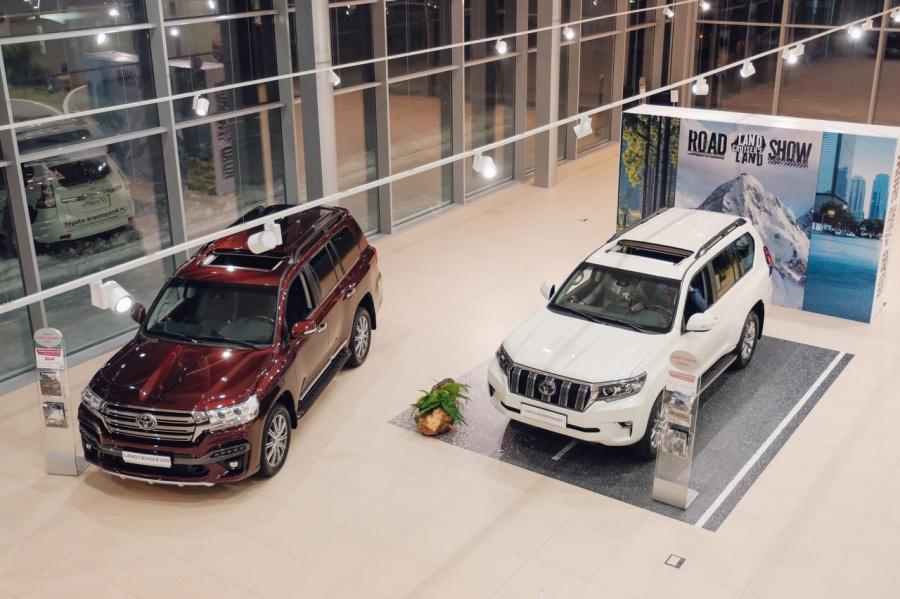 ВКрасноярске иАбакане прекращают работать дилерские центры «Тойота» и«Lexus»