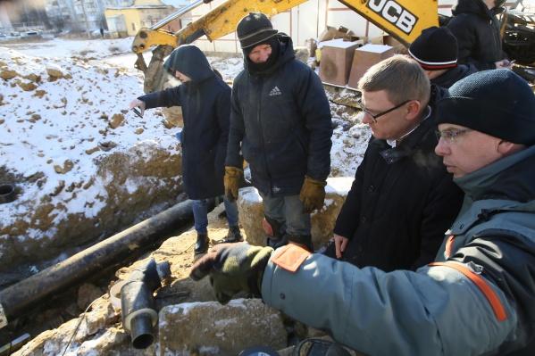 Прибывший в Чебаркуль губернатор Алексей Текслер оценил масштабы бедствия «на земле»