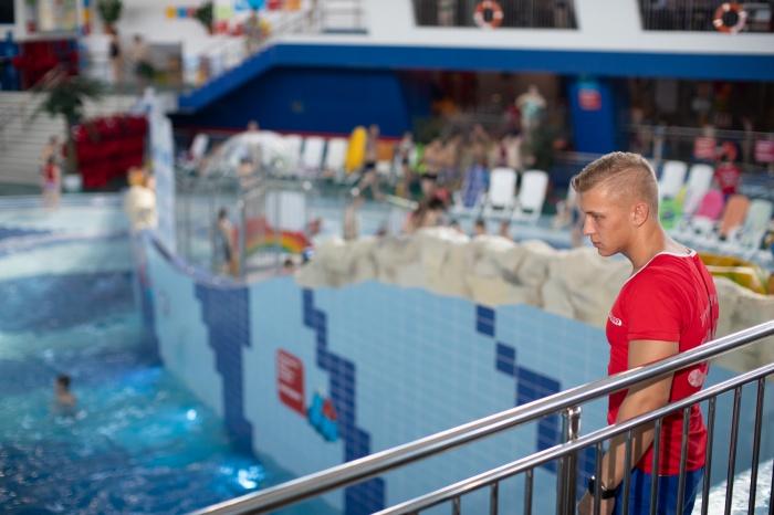 В одну смену в аквапарке работают 22 спасателя