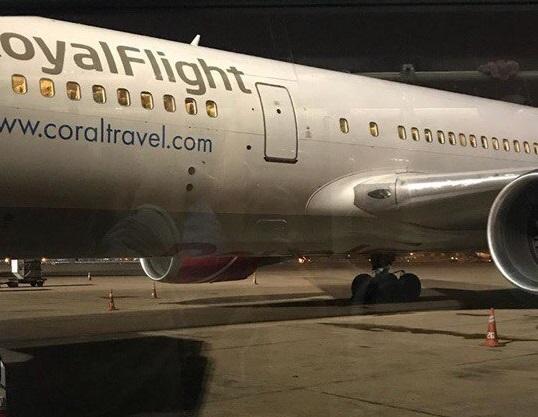 Перевозчик Royal Flight рассказал обэкстренной посадке лайнера вДели