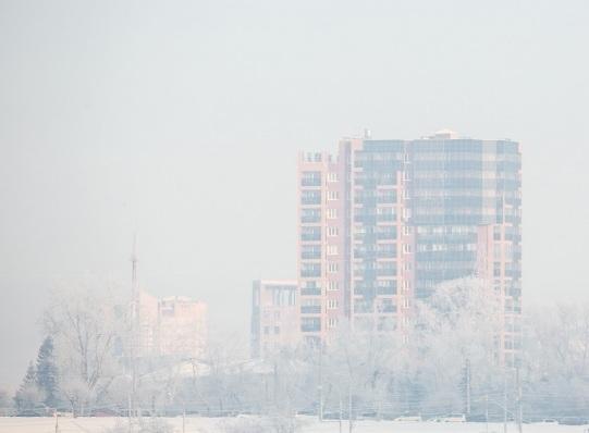 Разогнал смог над городом