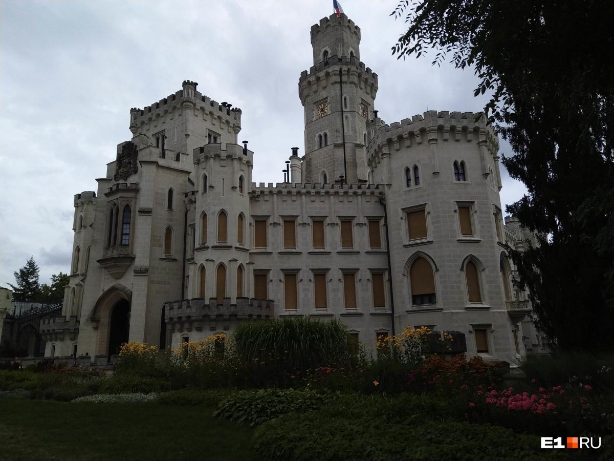Этот замок был построен вXIII веке