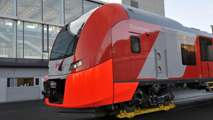 В Омске будут тестировать скоростной электропоезд «Ласточка» до Новосибирска