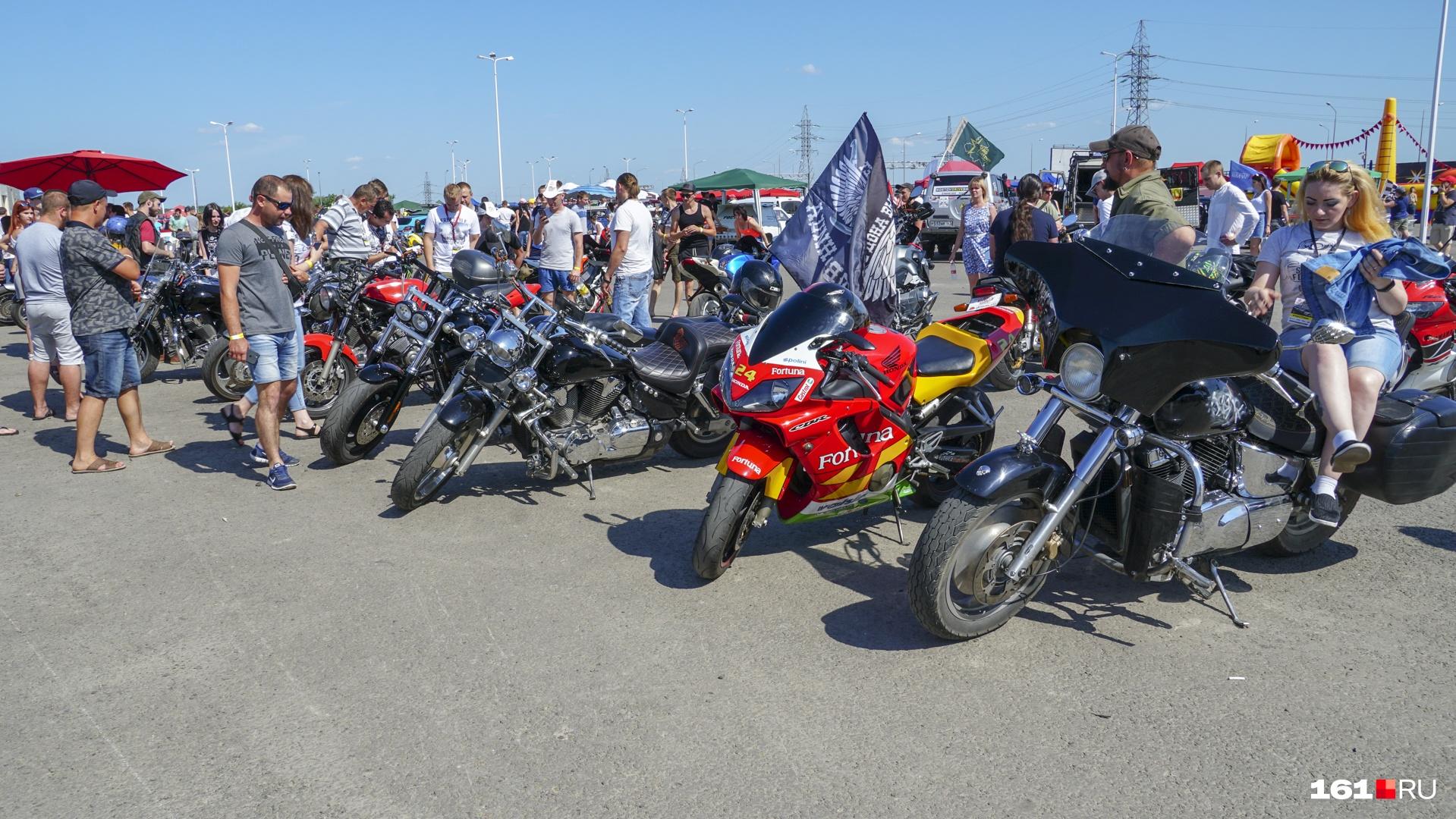 Выставка мотоциклов — для тех, кто в душе «Ночной волк»