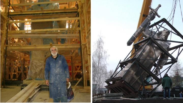Скульптор работал пять месяцев и не получил денег: история создания «Седого Урала» и уникальные фото