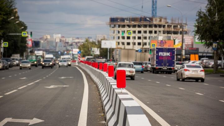 200 миллионов и 500 дорожных знаков: дорожники закончили ремонт улицы Немировича-Данченко