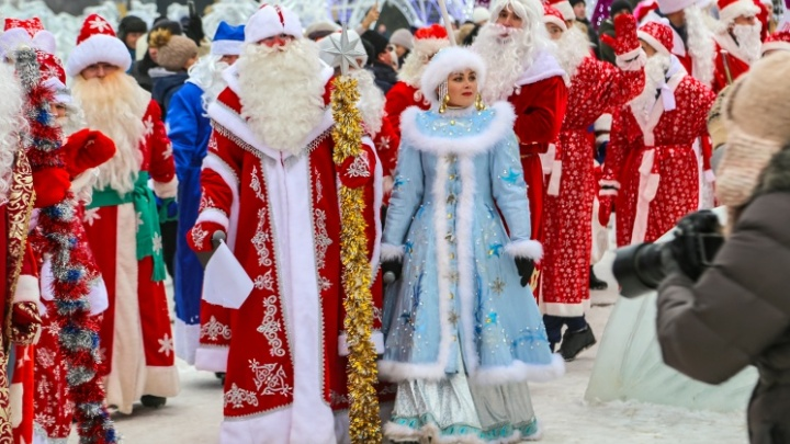 В Уфе из-за парада снегурочек перекроют три улицы