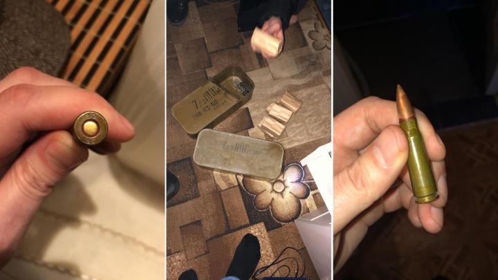 Полиция отобрала у екатеринбуржцев 21 ствол и 800 боеприпасов