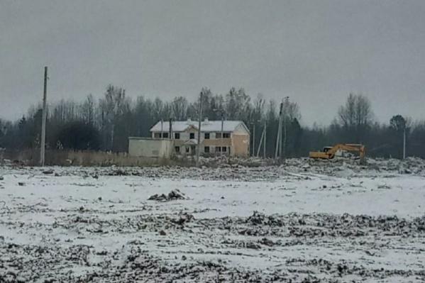 В Усольском-2 уже почти не осталось домов