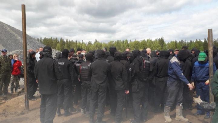В отношении Михаила Габова возбудили дело за столкновение с ЧОПом на Шиесе 4 июня