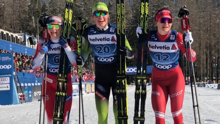 Заехали на подиум: лыжники Поморья завоевали две бронзы на многодневке «Тур де Ски»